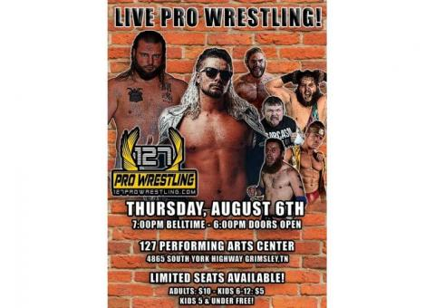 127 Pro Wrestling in Grimsley, TN